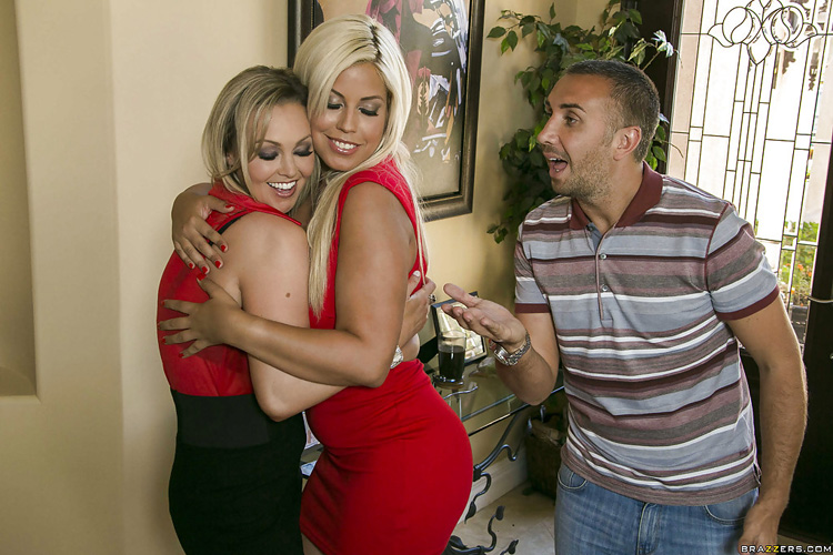 Bridgette B Trio Pornstars like it big 31