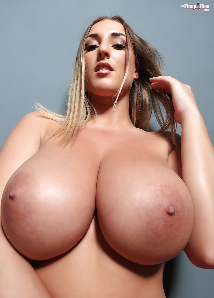 Stacey Poole topless Pinup Files 0