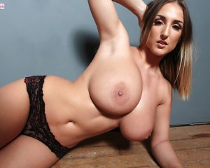 Stacey Poole topless Pinup Files 1