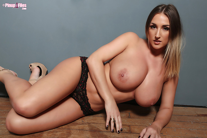 Stacey Poole topless Pinup Files 10