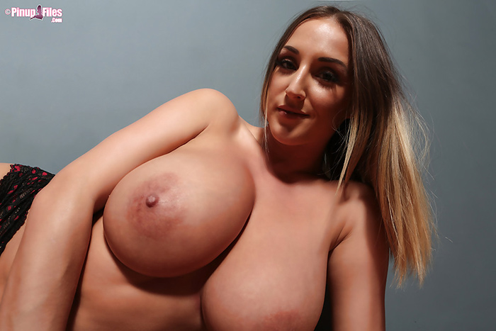 Stacey Poole topless Pinup Files 11