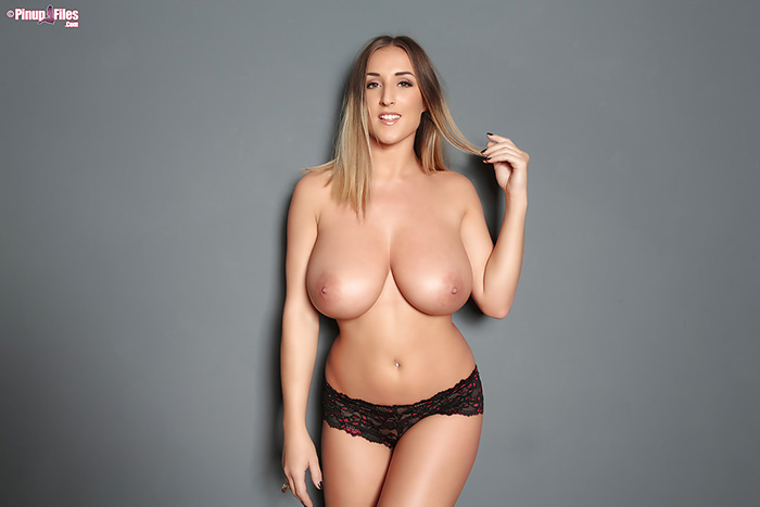 Stacey Poole topless Pinup Files 3