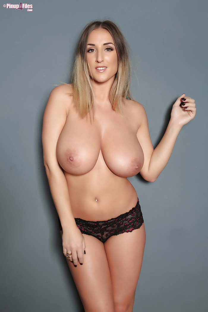 Stacey Poole topless Pinup Files 5