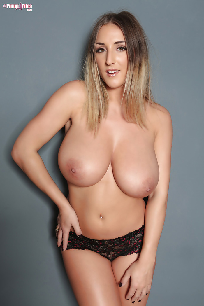 Stacey Poole topless Pinup Files 6