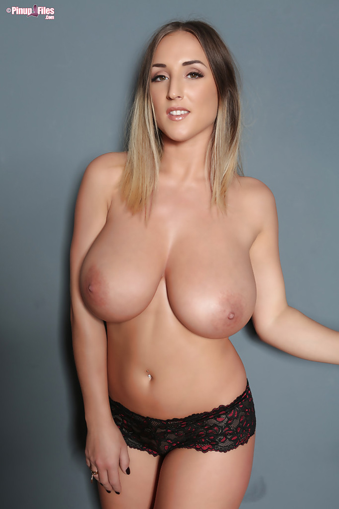 Stacey Poole topless Pinup Files 8