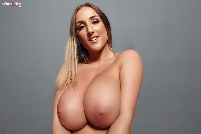 Stacey Poole topless Pinup Files 9