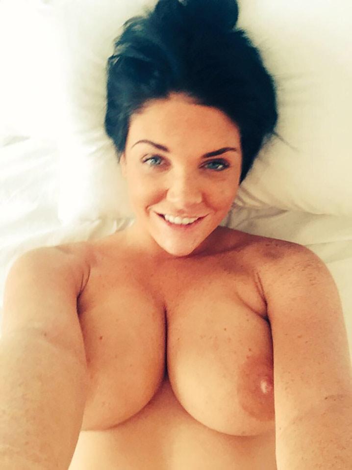 Megan busty brunette Nude 5
