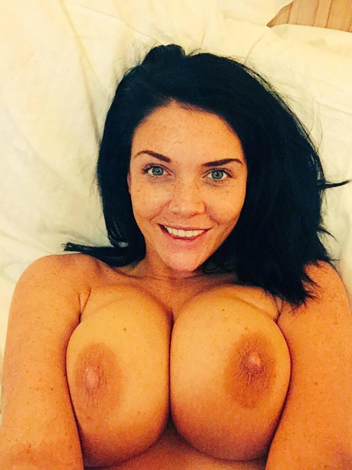 Megan busty brunette Nude 6